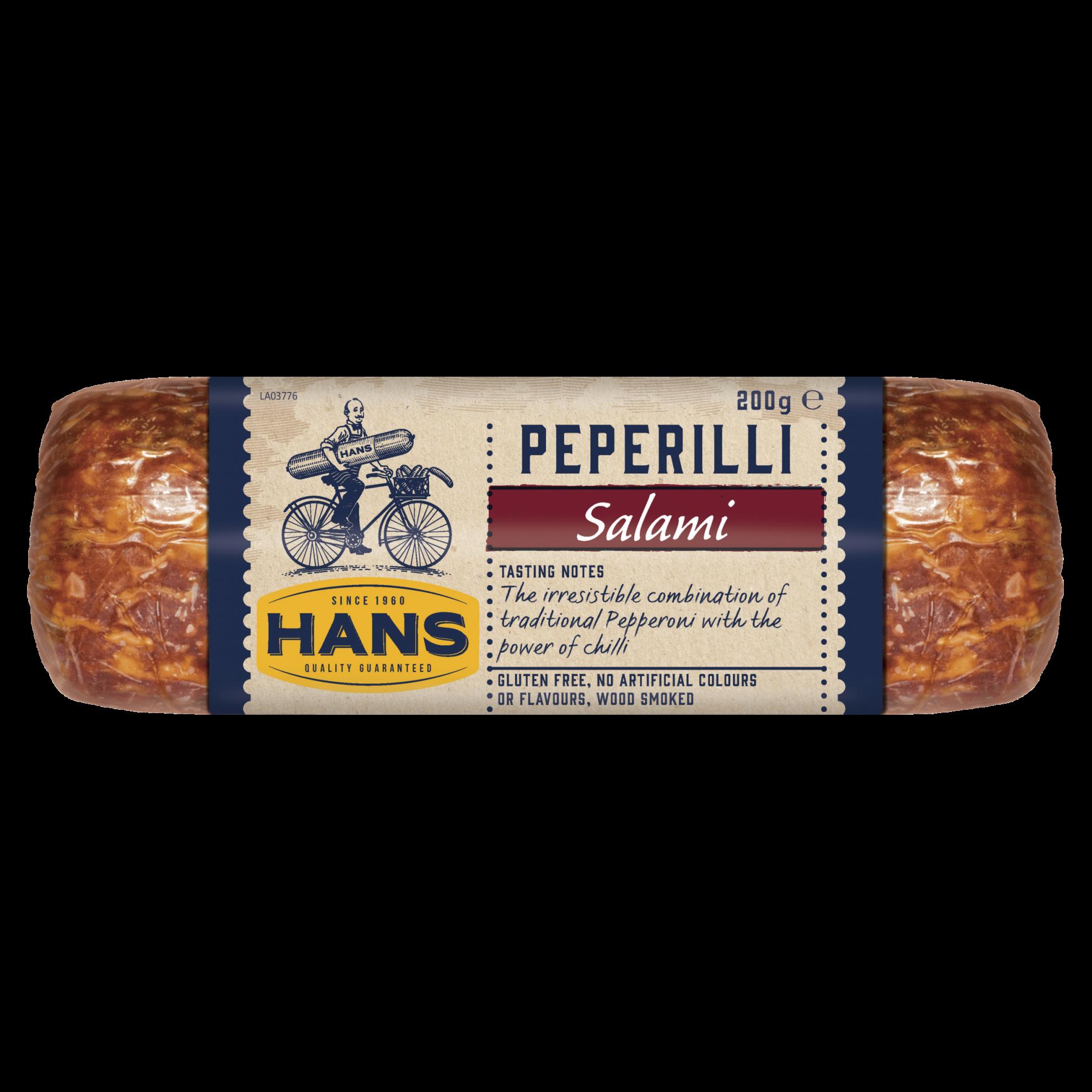 Hans Peperilli Salami 200g