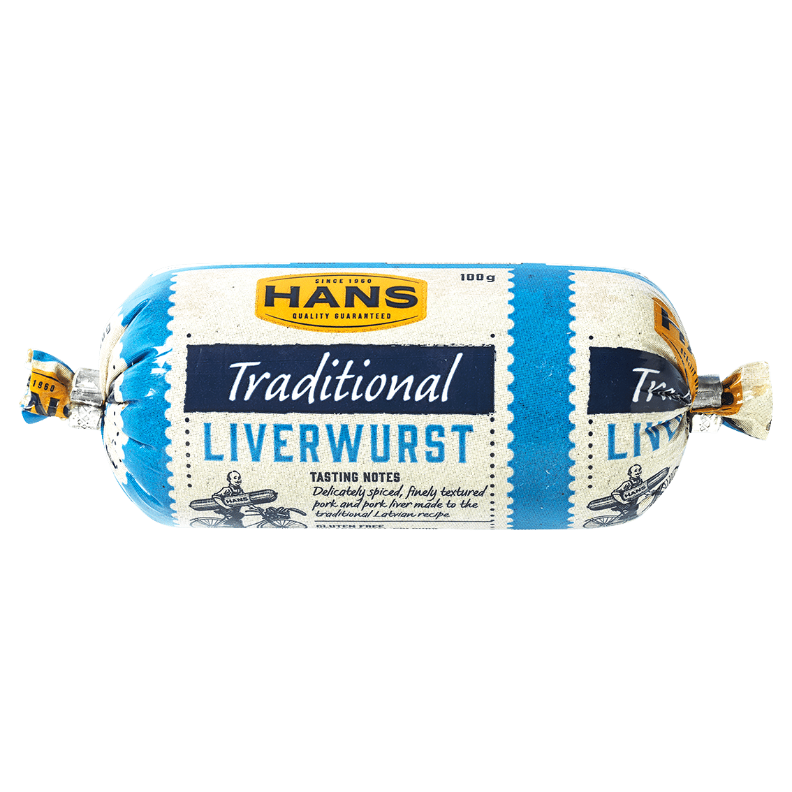 Hans Traditional Liverwurst 100g
