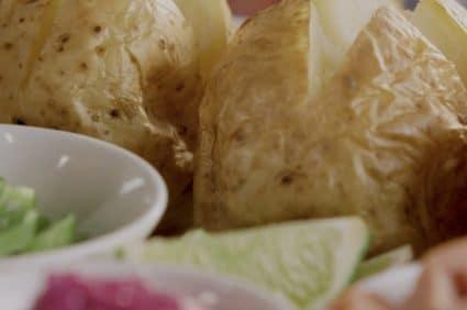 Jacket Potato Grazing Board