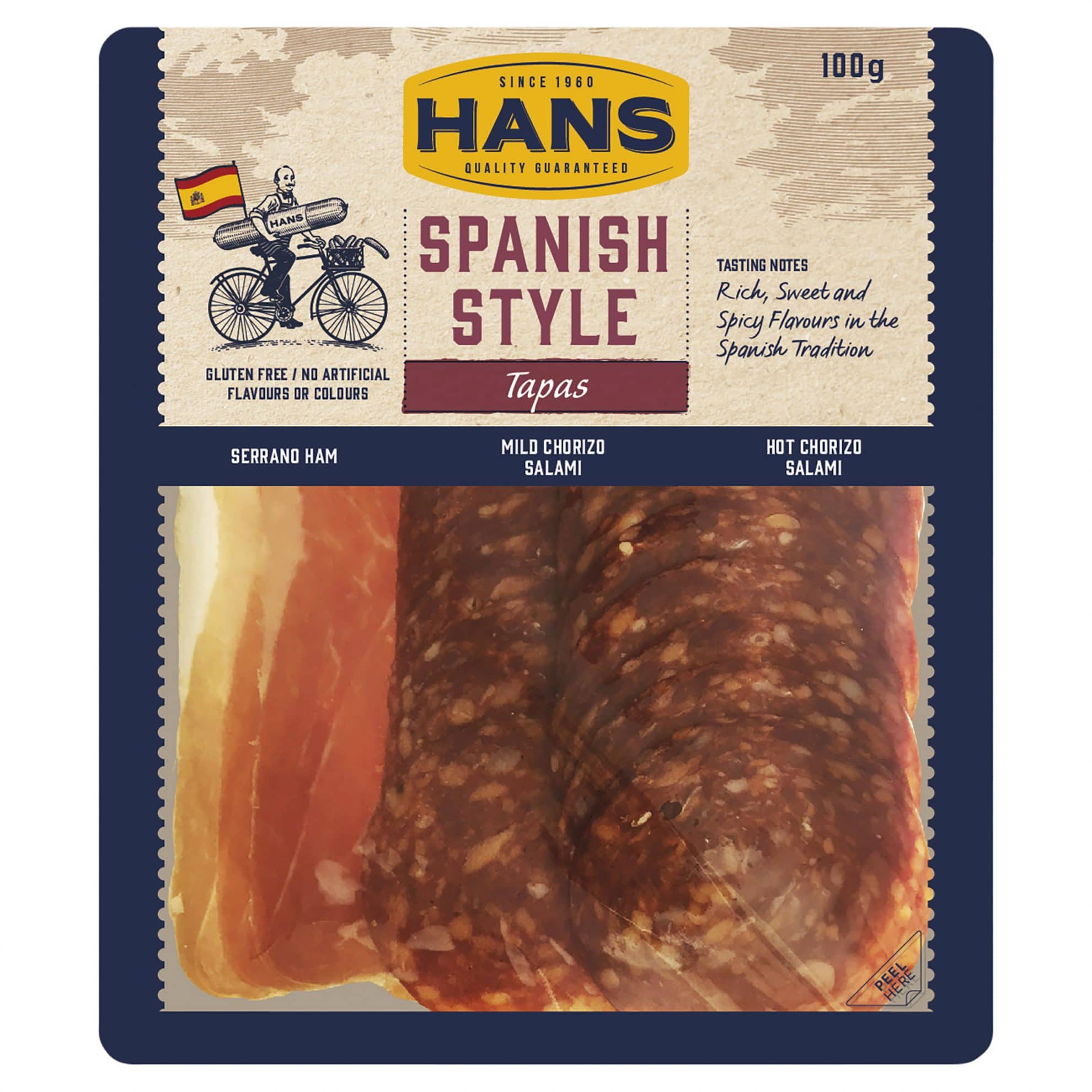 Hans Spanish Style Tapas 100g