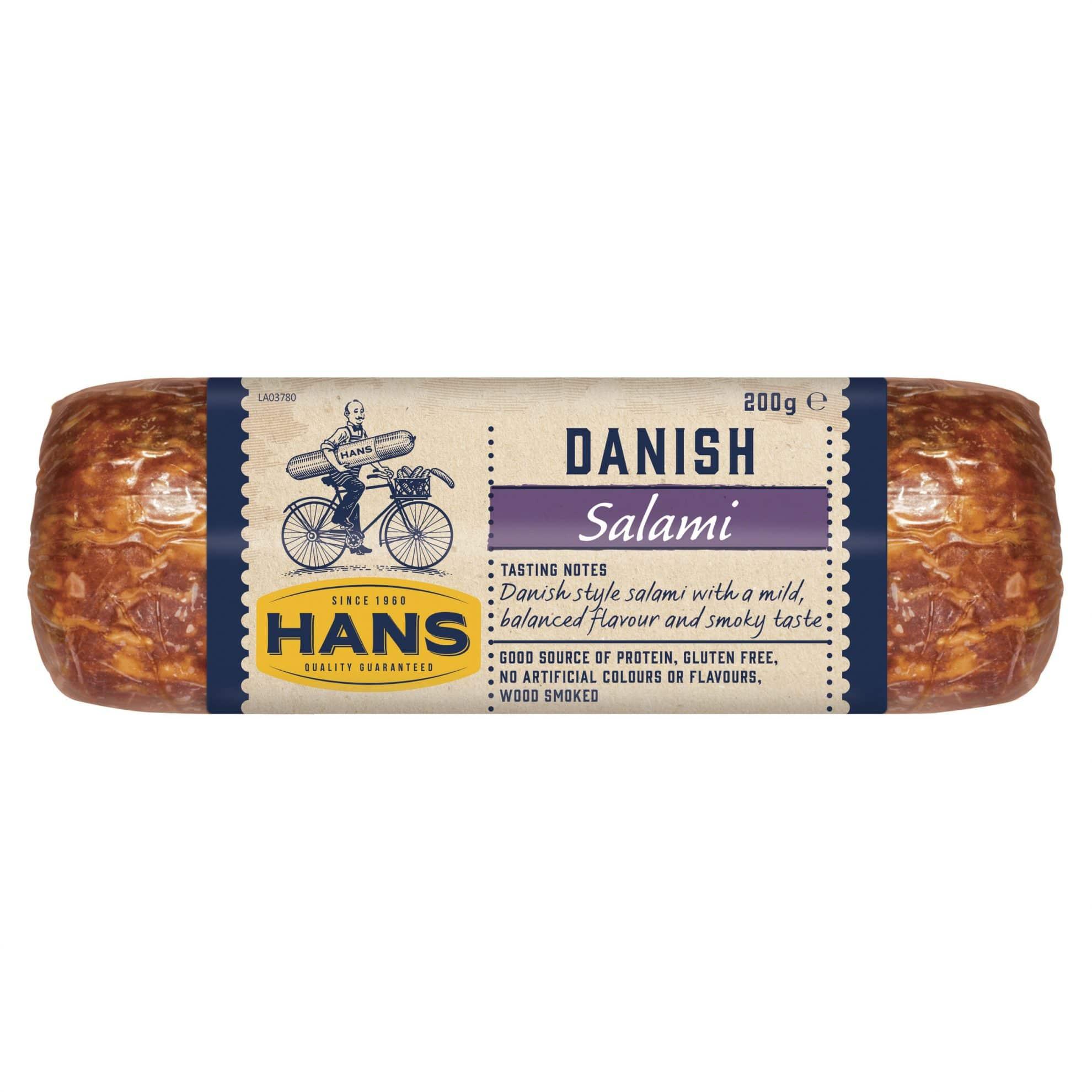 Hans Danish Salami 200g